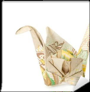 10 note origami crane | 309x304