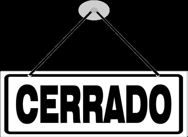 Download Planazo Semana Santa Suspendido - Cerrado Png - Full Size ...