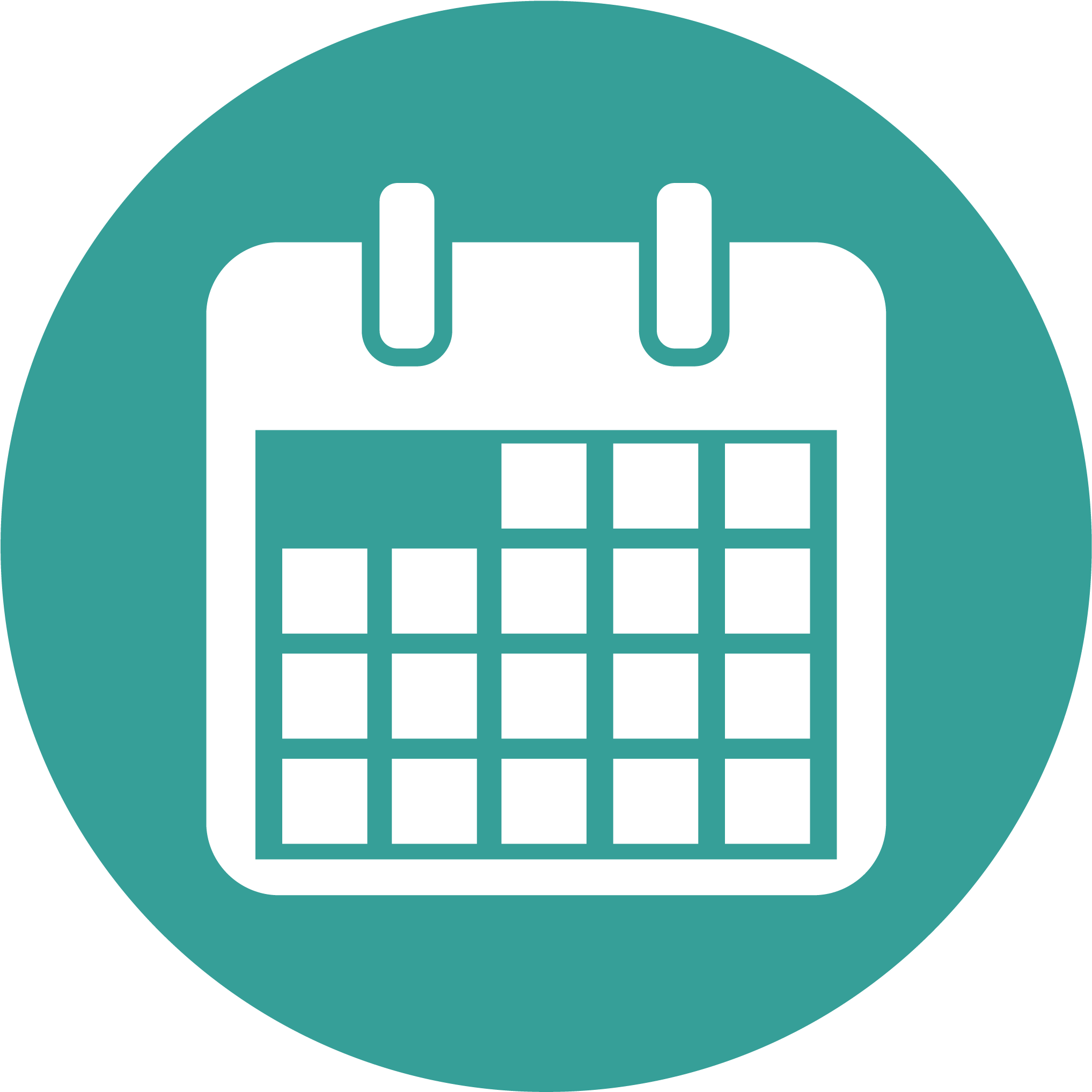 Download Calendar Icon - Key Dates Icon - Full Size PNG ...