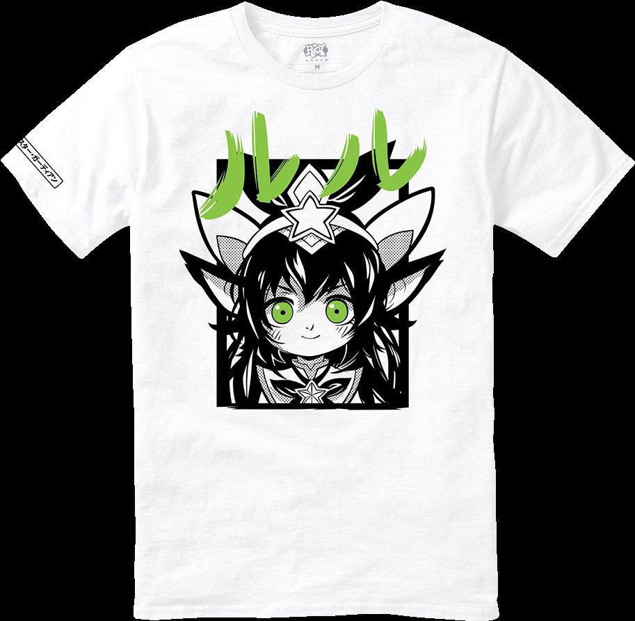 07af2f12e Star Guardian Lulu Tee - Lulu Star Guardian T Shirt (1000x1000), Png  Download