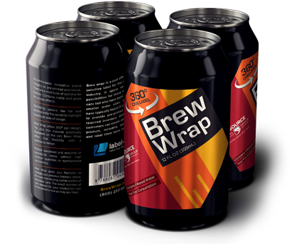 Download Brew Wrap Labels For Beer Cans - Soda Can Wrapper