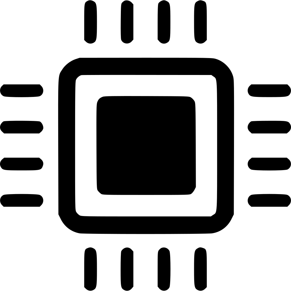 Download Png File - Processor Icon Vector - Full Size PNG Image ...