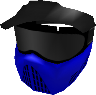 Download Blue Paintball Mask Black Mask Roblox Full Size Png Image Pngkit