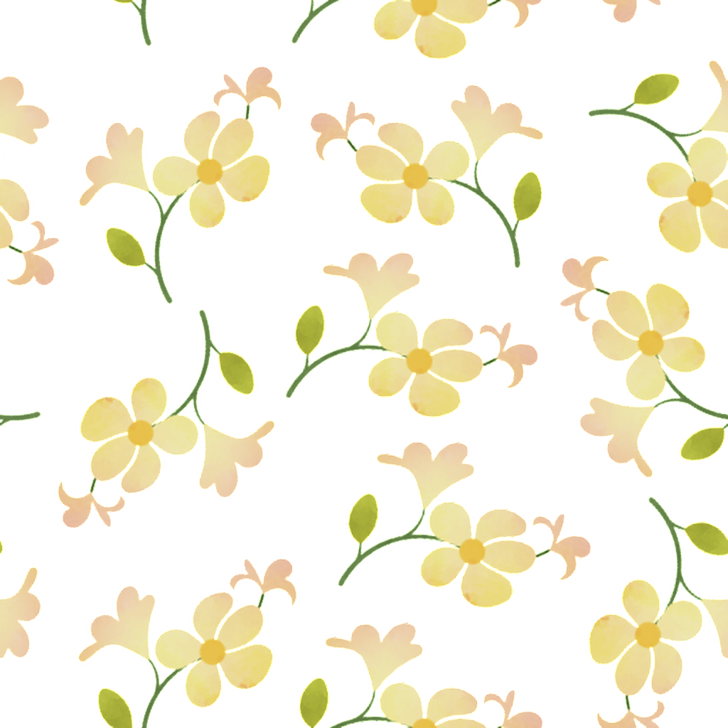 download green yellow flower branch cartoon background watercolor painting full size png image pngkit download green yellow flower branch