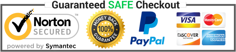 Guaranteed Safe Checkout - Safe Checkout Trust Badges Shopify (800x200), Png Download