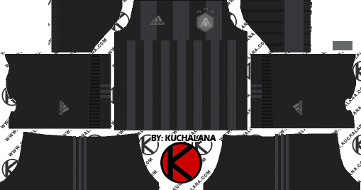 Necesario avaro intervalo  Download Information Adidas X Star Wars Kylo Ren - Kits Dream League Soccer  2018 - Full Size PNG Image - PNGkit
