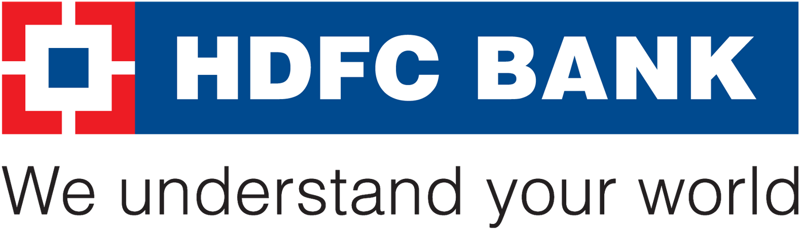 Download Credit Card- Powered By - Hdfc Bank Logo Png - Full Size
