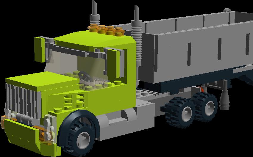 Download Semi - Truck - Full Size PNG Image - PNGkit