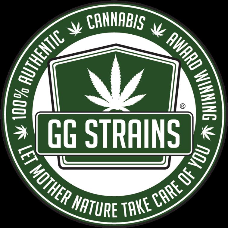Download Ggstrains Fka Gorilla Glue Strains - Gg Weed Logo