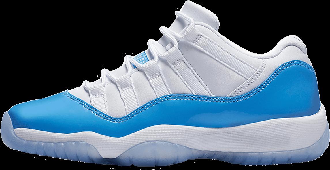 Download Nike Air Jordan 11 Retro Low White University Blue