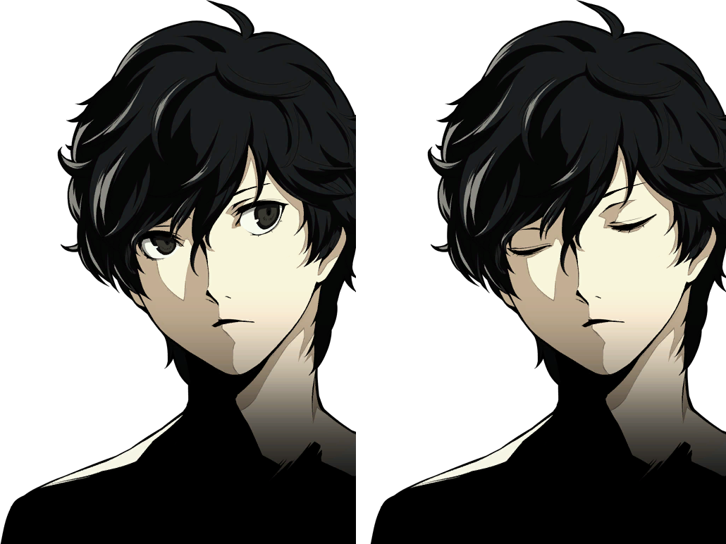 Download Persona 5 Protagonist Akira Kurusu Phantom Thief Joker Cartoon Full Size Png Image Pngkit