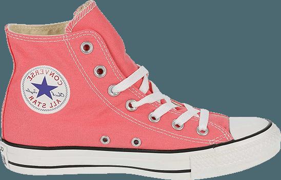 Pink Glitter Converse High Tops