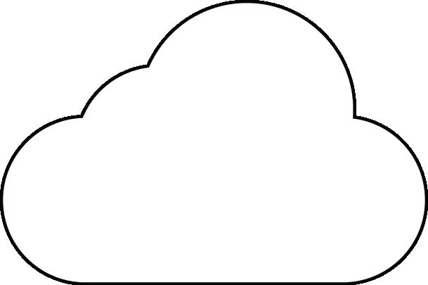 Download Forme Nuage Nuage A Imprimer Full Size Png