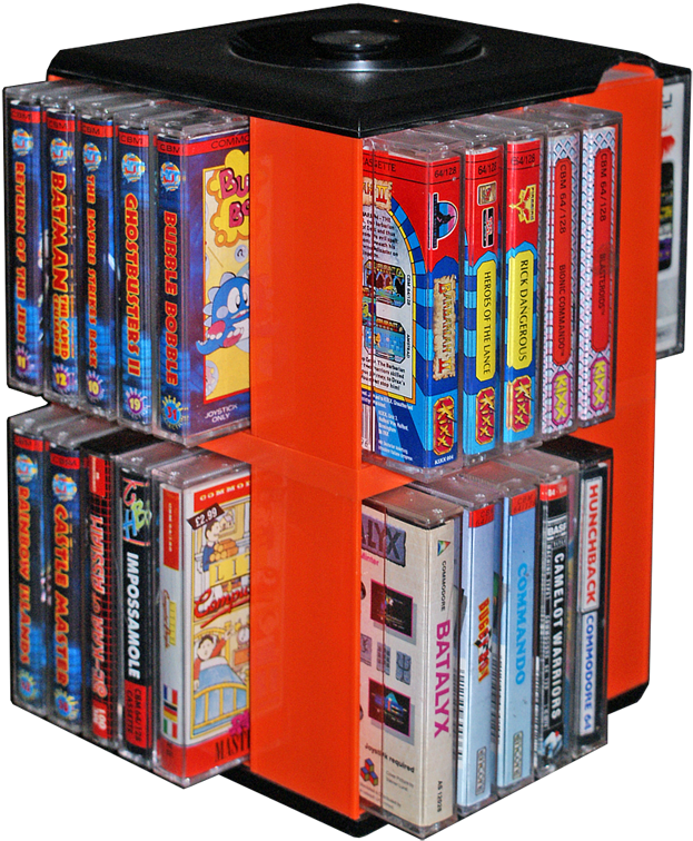 Download Cassette Box With C64 Games - Commodore 64 Game Collection
