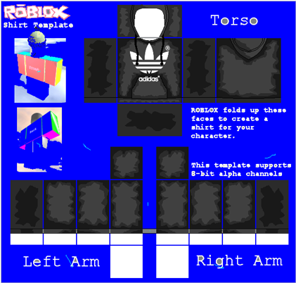 Download Roblox Jacket Png Png Free Library - Roblox Adidas