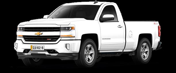 Chevrolet Silverado Lt 1500 V6 2017 611x306 Png