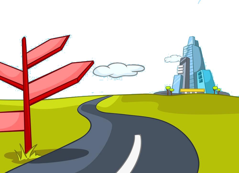 Download Png Transparent Stock Cartoon Photography Road Material Road Cartoon Full Size Png Image Pngkit