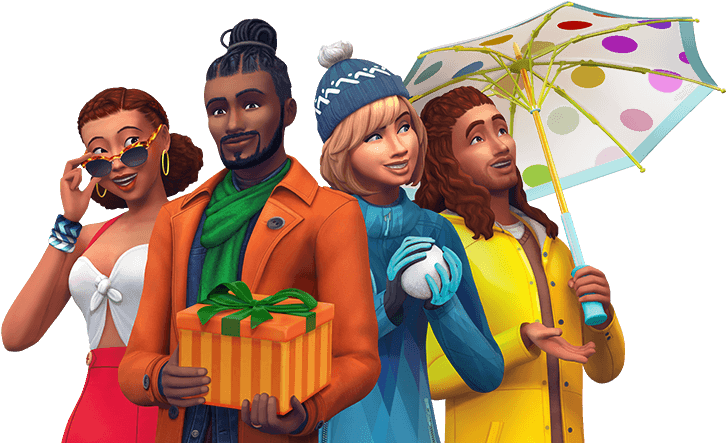 sims 4 seasons download size