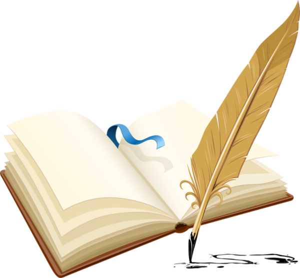 Download Livre D Or Pen And A Book Full Size Png Image