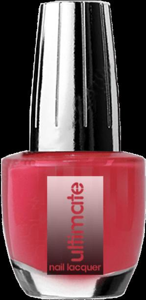 Download Ultimate Nail Lacquer Red Brick - Nail Polish - Full Size
