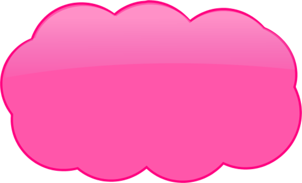 download pink 3d cloud thought bubble vector clip art pink cloud clip art full size png image pngkit download pink 3d cloud thought bubble