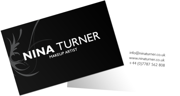 Makeup Artist Business Cards (625x343), Png Download