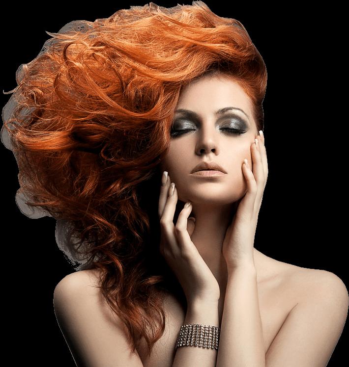 Download Home Barber Slider Girl Beauty Salon Girl Png Full Size Png Image Pngkit