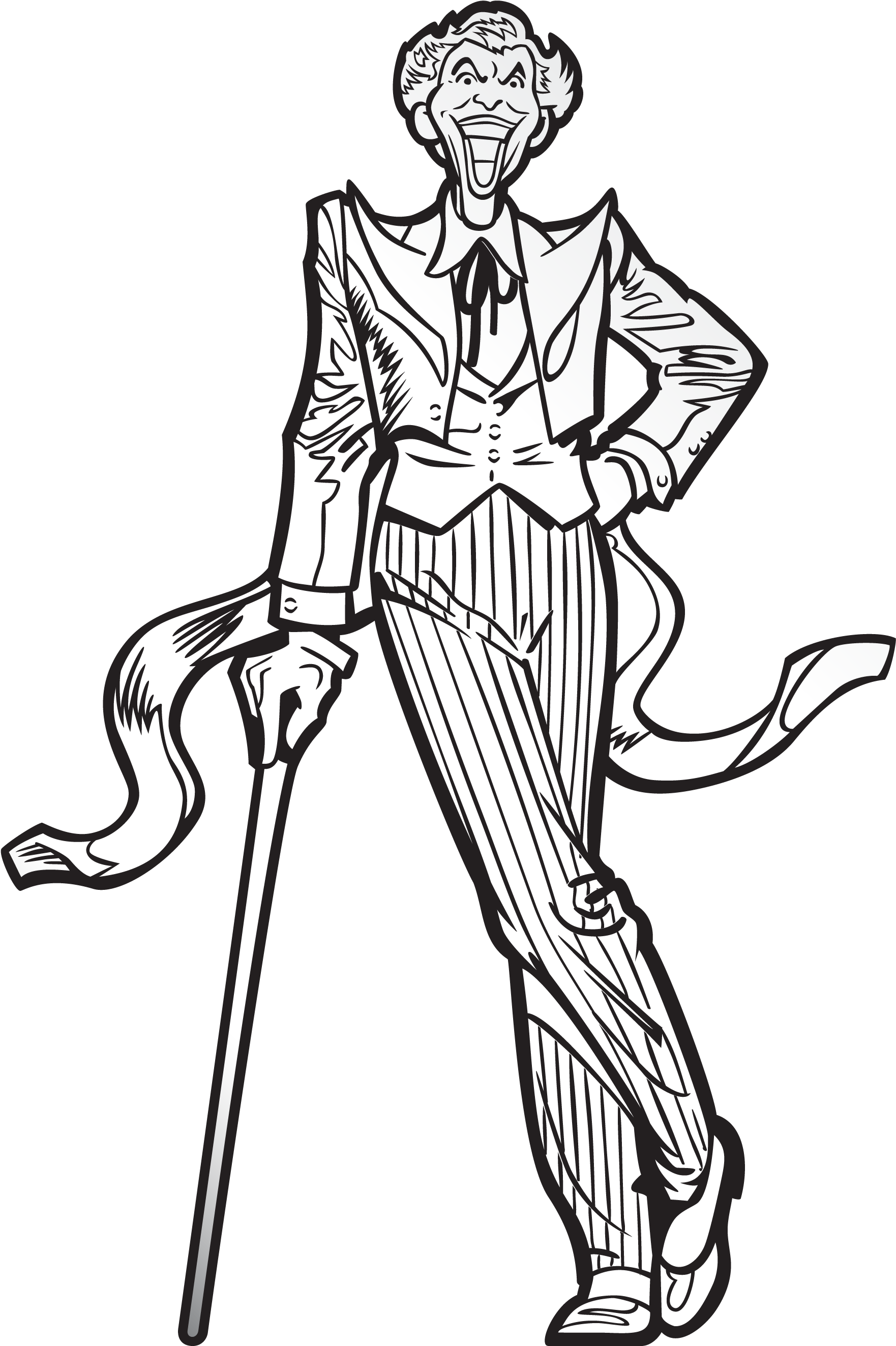 Download Graphic Library Stock Action Drawing Figure Figpin Joker Full Size Png Image Pngkit