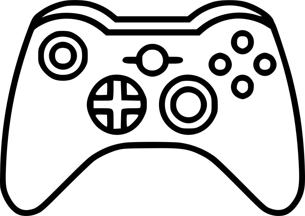 Download Joystick Xbox Comments Manette Jeux Video Dessin Full Size Png Image Pngkit