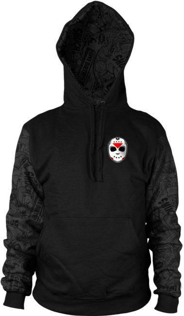 Download Delirious All-over Hoodie Sweatshirt - H2o Delirious Merch