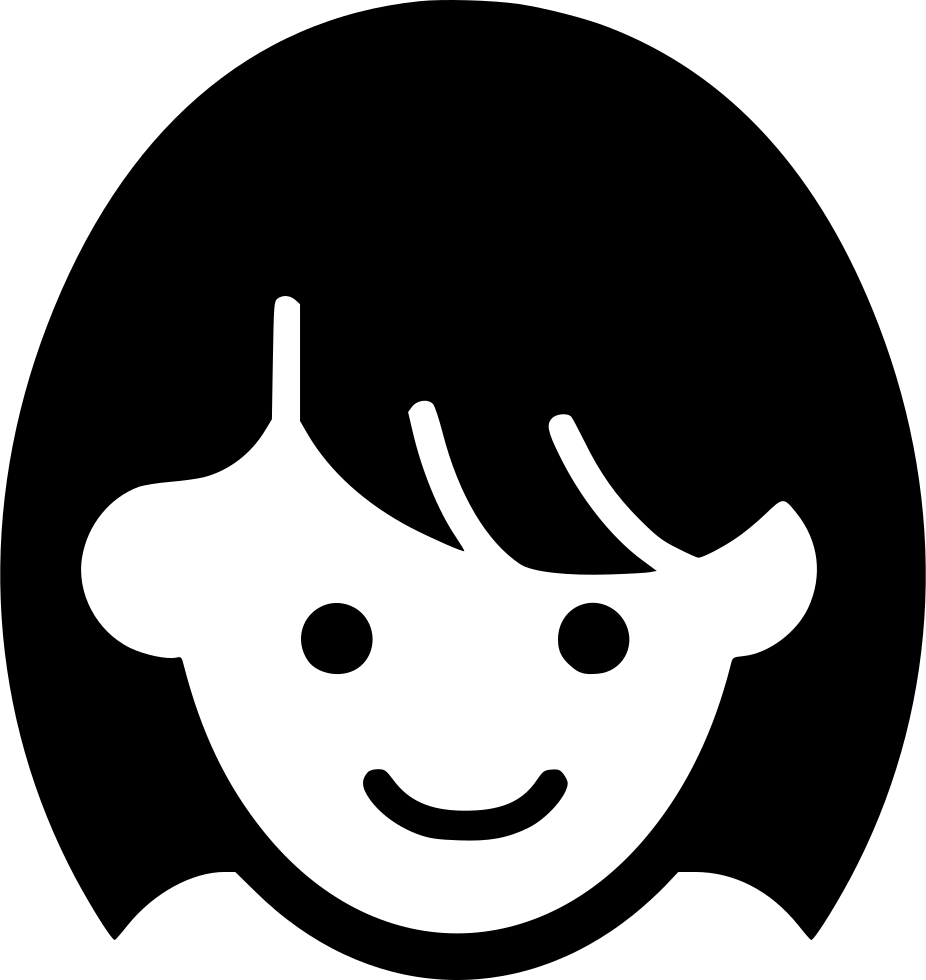 download png file svg girl face icon png full size png image pngkit png file svg girl face icon png