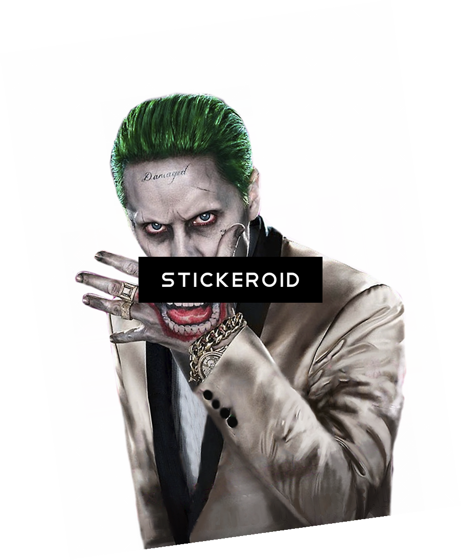 Download Joker Actors Heroes Joker Suicide Squad Hd Full Size Png Image Pngkit