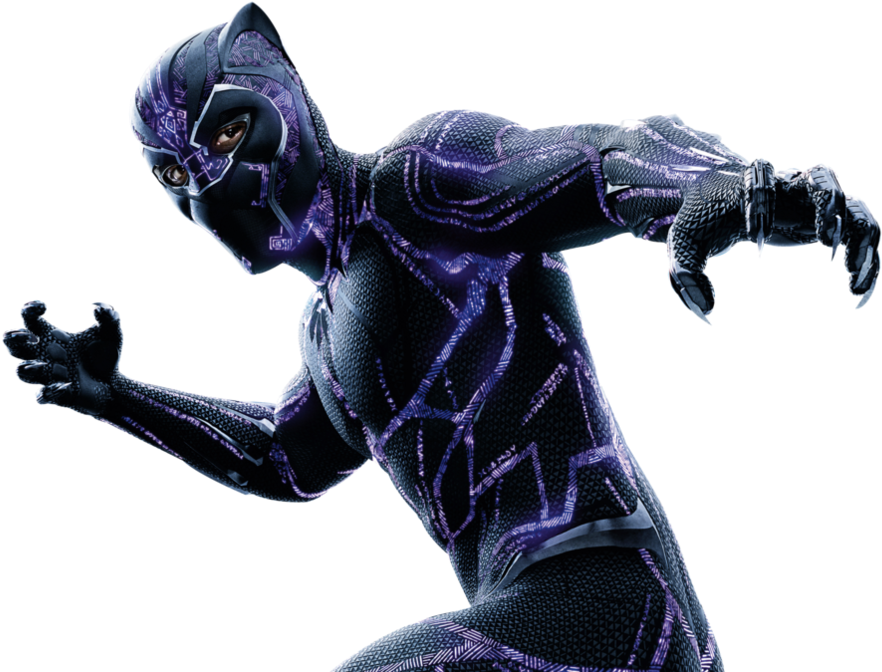 Download Black Panther Png Images Black Panther Purple Png Full Size Png Image Pngkit
