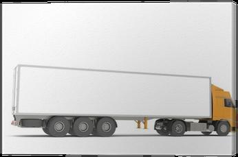 Download Tractor Trailer Semi-truck - Semi-trailer Truck - Full Size
