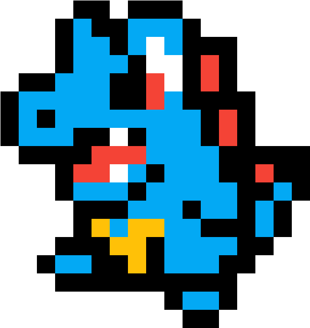 Download Totodile Pokemon Pixel Art Mudkip Full Size Png Image Pngkit Below is a list of 10 pokemon templates from friendsh. totodile pokemon pixel art mudkip
