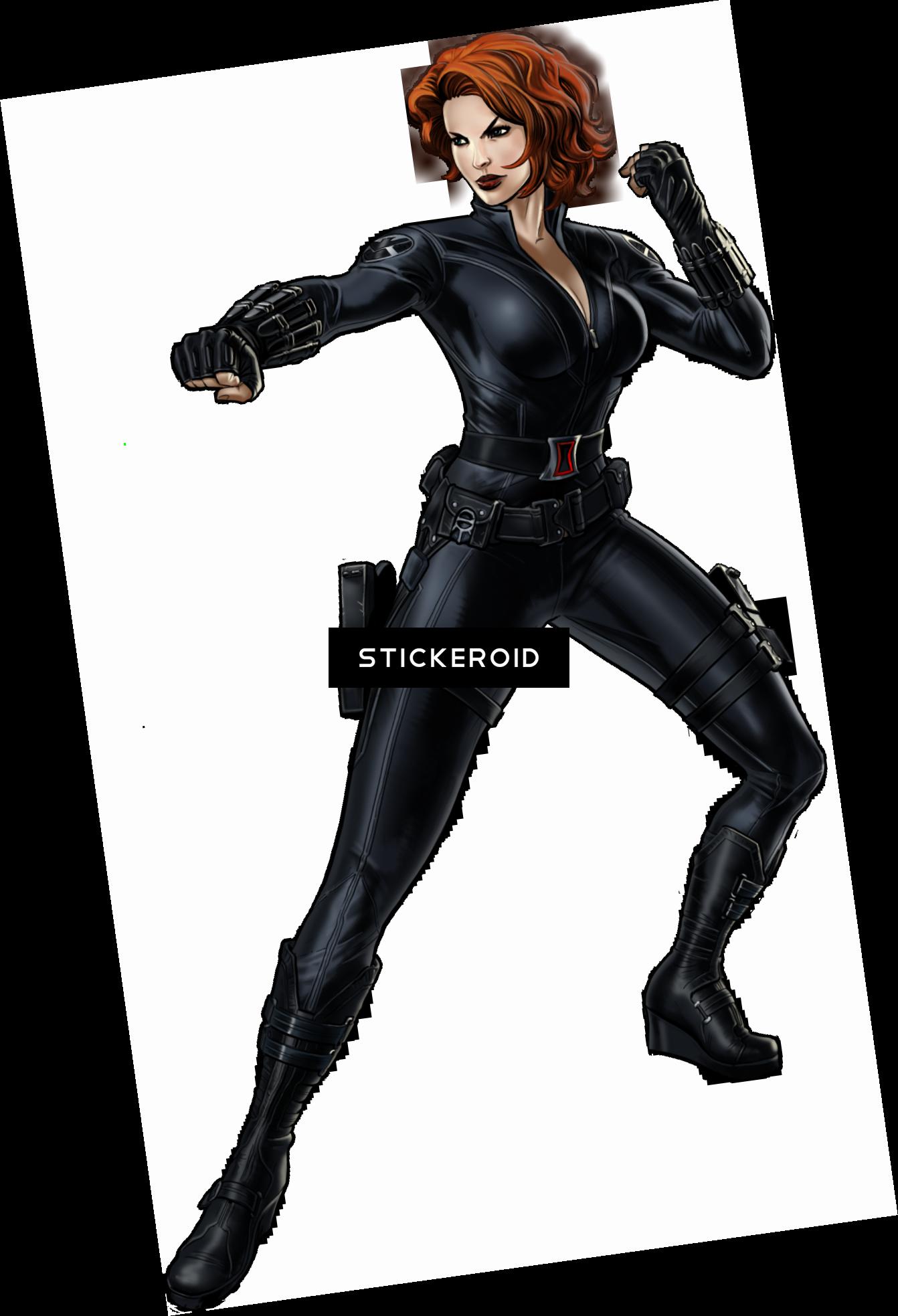 Download Black Widow Avengers Dessin Black Widow Full Size Png Image Pngkit