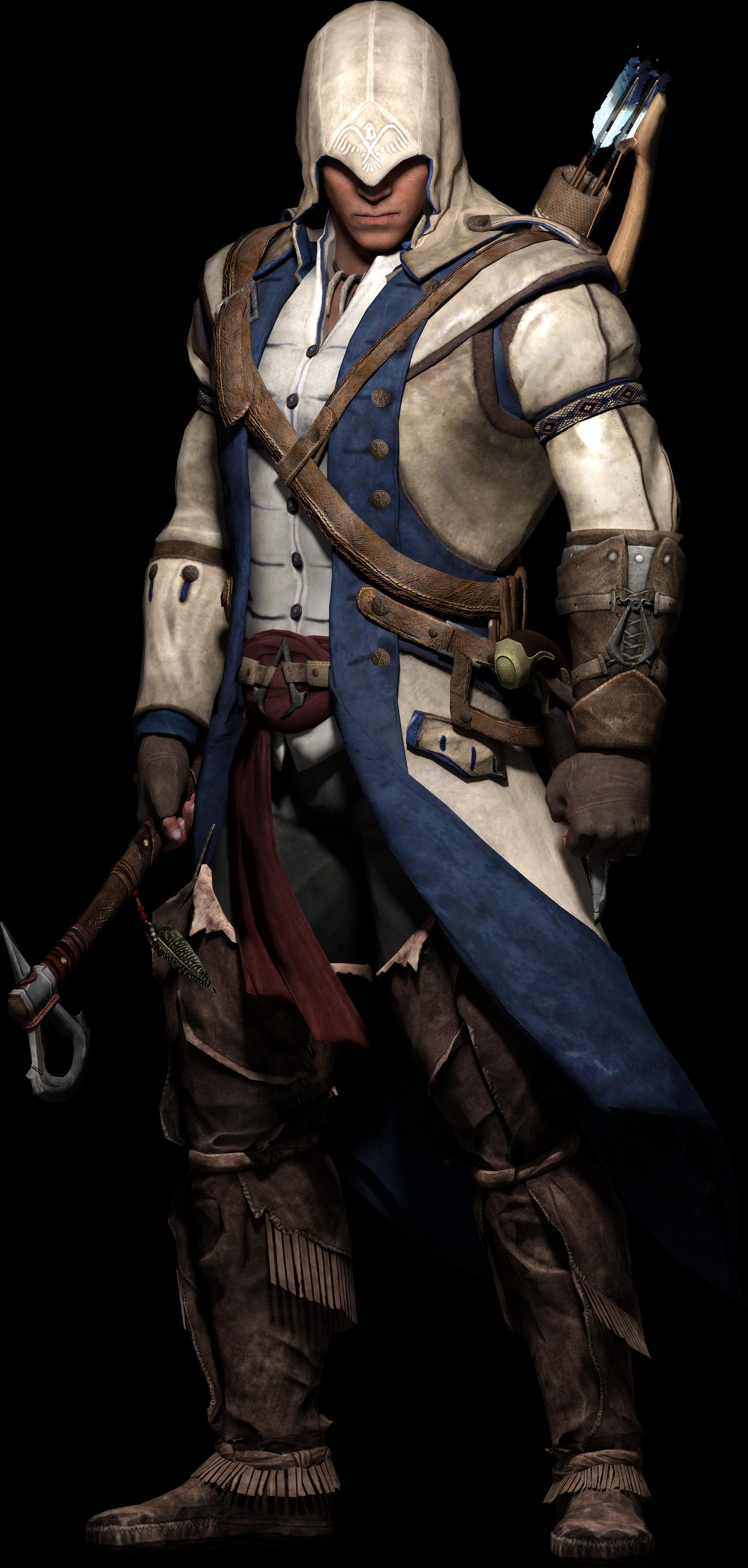 Download Assassins Creed 3 Artwork Render Connor Kenway Model