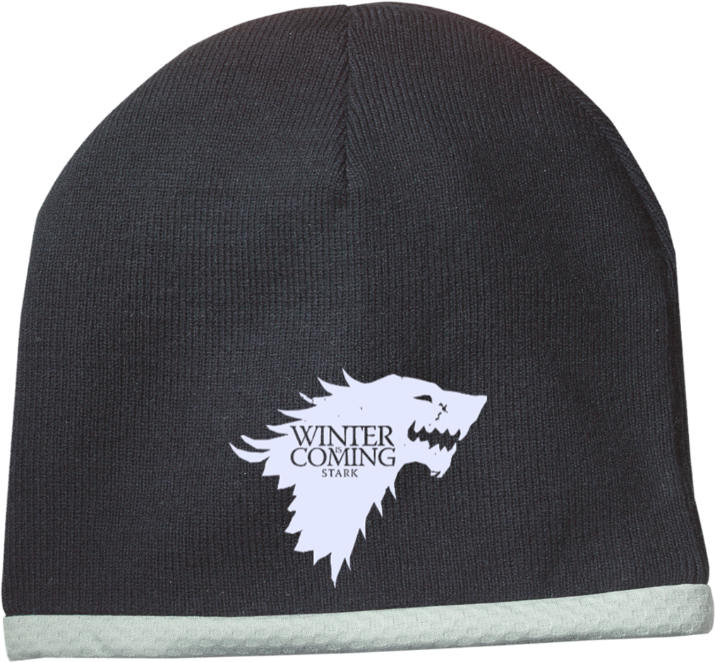 Download Winter Is Coming Stc15 Sport Tek Performance Knit Cap
