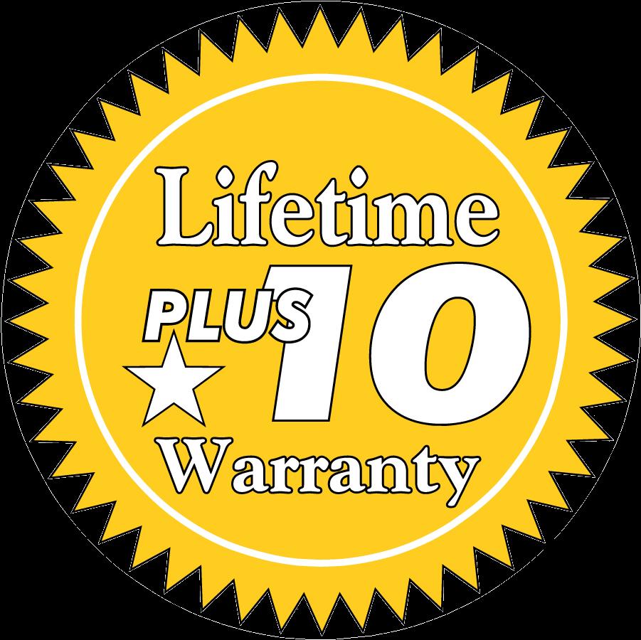 Download Lifetime Plus 10 Warranty Icon Mattel Logo Full Size