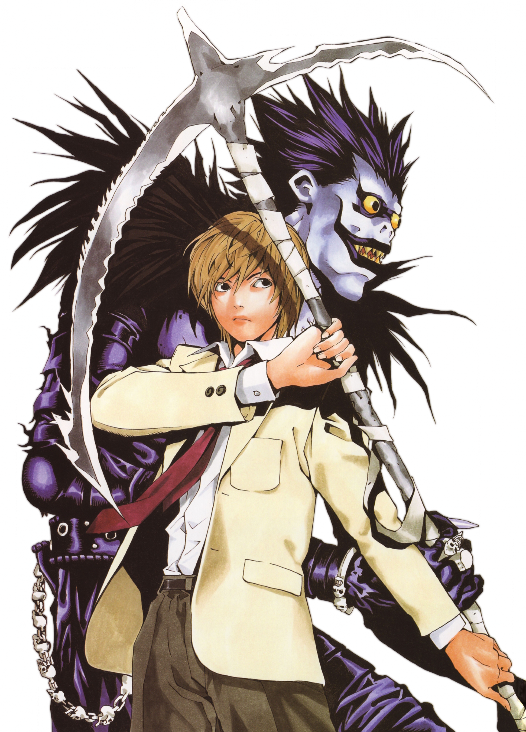 Download Death Note - Obata Takeshi Death Note - Full Size PNG ...