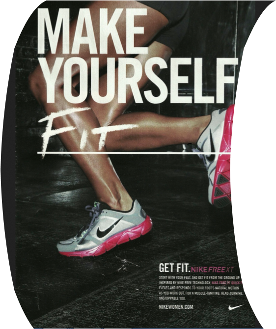 Download Check Out The Nike Youtube Video With Interviews From Nike Shoes Print Ads Full Size Png Image Pngkit
