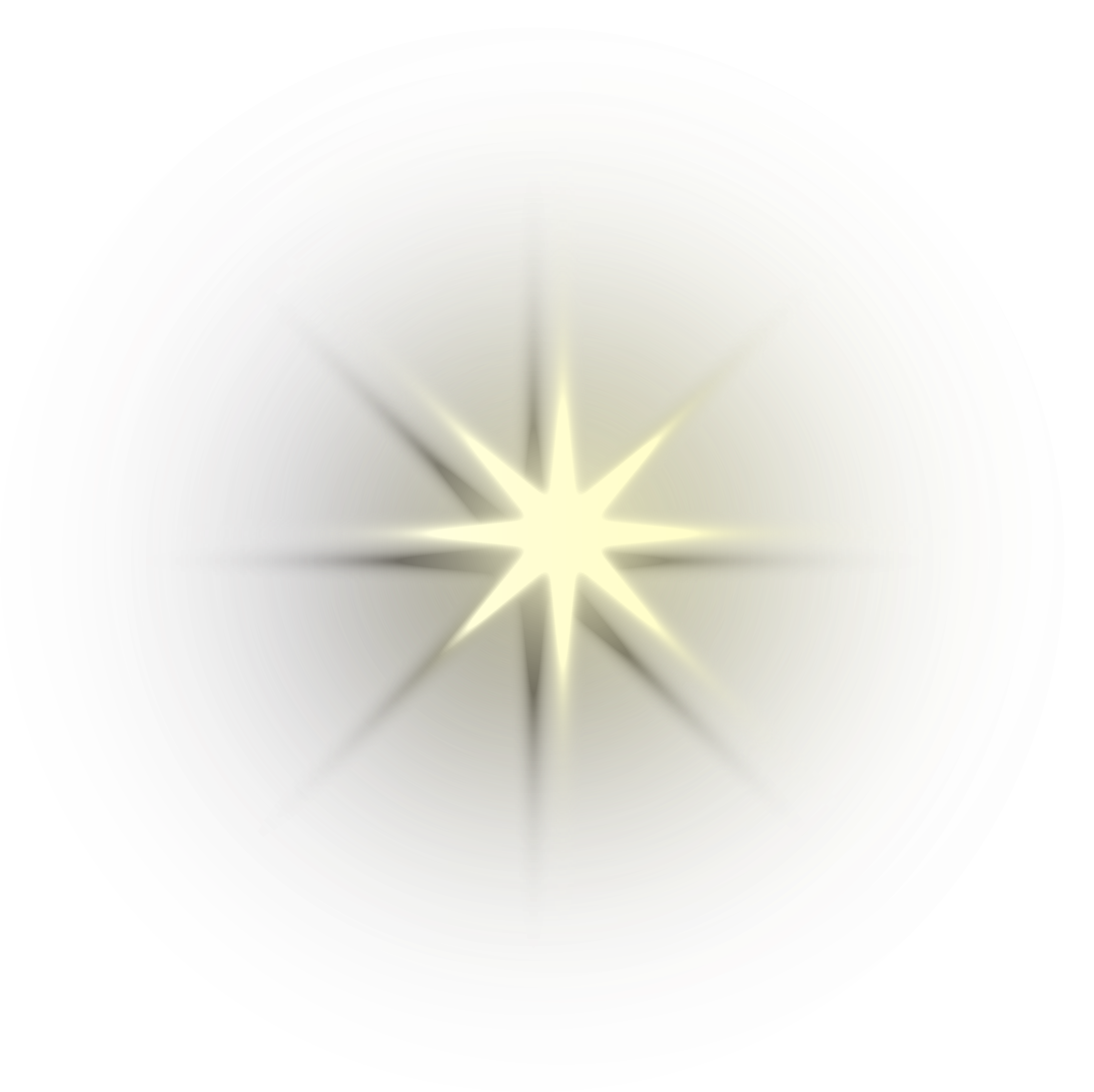 Download Star Light Effect Png Download - Shining Light Effect Png