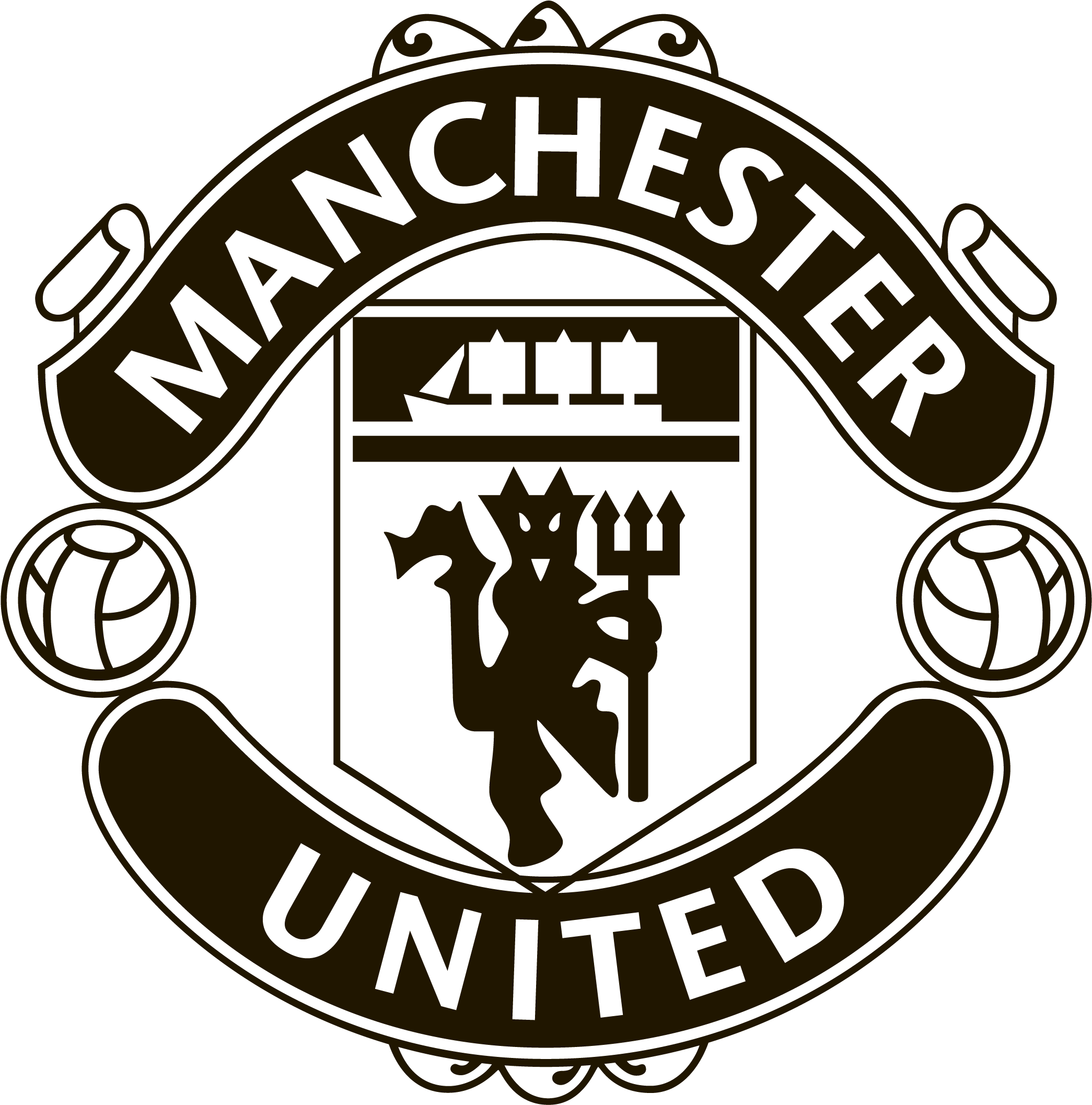 Download Manchester United Logo Png Transparent Picture Manchester United Black Logo Png Full Size Png Image Pngkit
