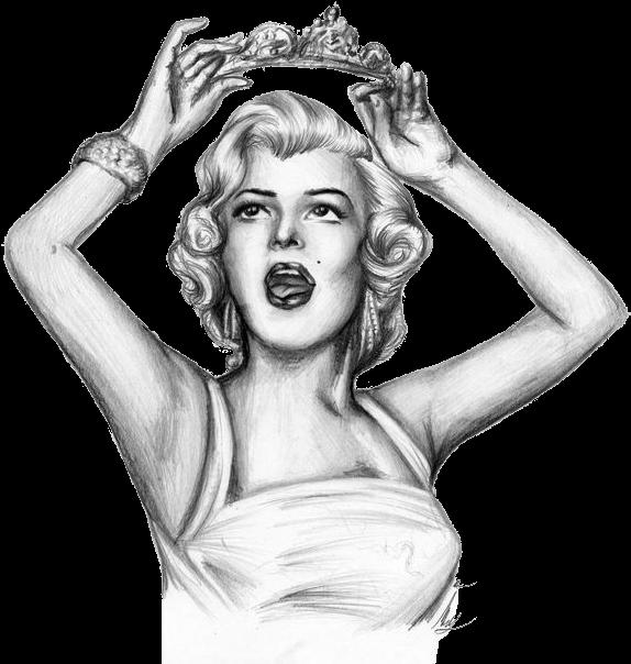 Download Marilyn Monroe Drawing Pencil Sketch Marilyn Monroe Dibujo Full Size Png Image Pngkit