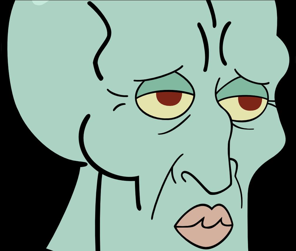 Zelius handsome squidward meme merch spongebob squarepants handsome squidward emoji 1368x855 png