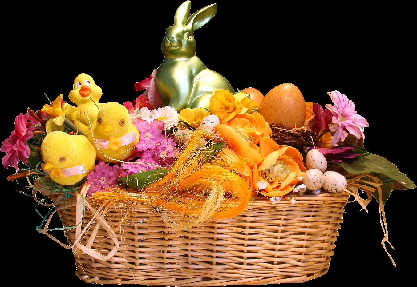 Download Easter Basket Png Transparent Image - Easter ...