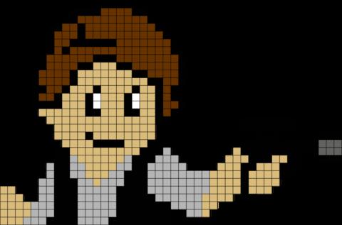 Download Star Wars Han Solo Pixel Art Pixel Art Star Wars