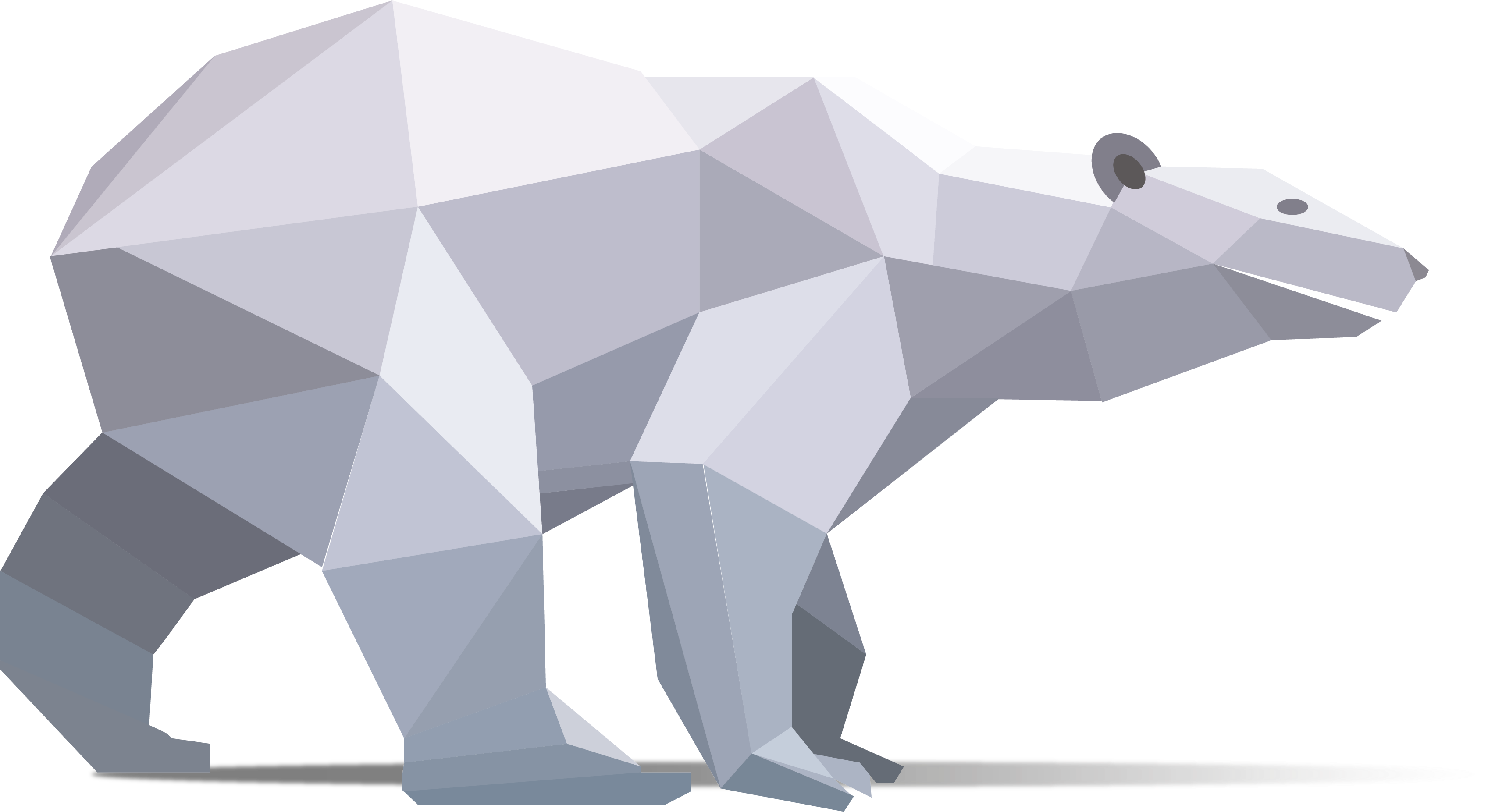 Origami Polar Bear | Designed and folded by Mindaugas Cesnav ... | 1853x3410
