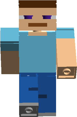 Download Steve Figure Lego Minecraft Steve Png Full Size Png
