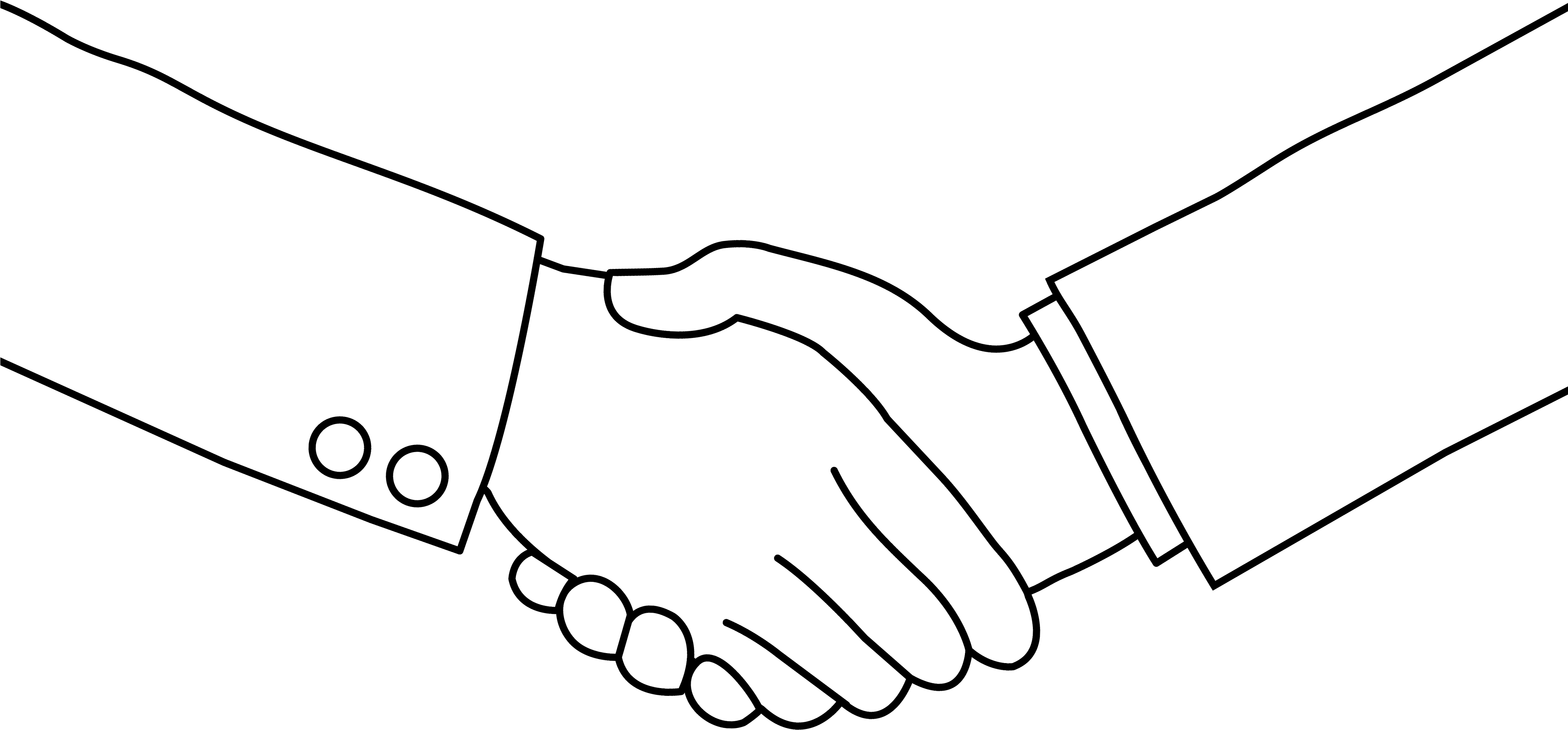Download Black White Handshake Clipart No Hand Shake Clipart Full Size Png Image Pngkit Earth day clipart black and white. hand shake clipart
